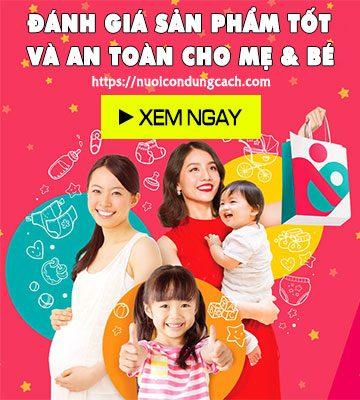 Đánh giá sản phẩm tốt và an toàn cho mẹ và bé