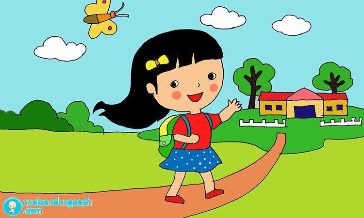 Cách giúp con thích đi học ngay lần đầu đến trường