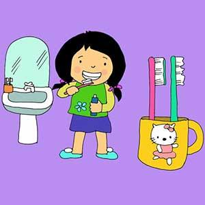 dạy trẻ kỹ năng vệ sinh cá nhân