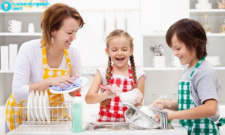 Áp dụng phương pháp Finger B khi thực hiện các công việc nhà