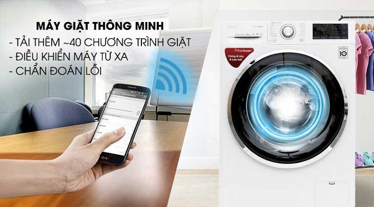 Máy giặt LG FC1409S2W Inverter 9 kg cửa trước