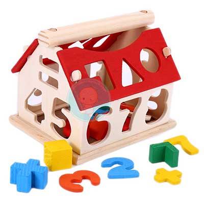 Đồ gỗ bằng gỗ cho trẻ