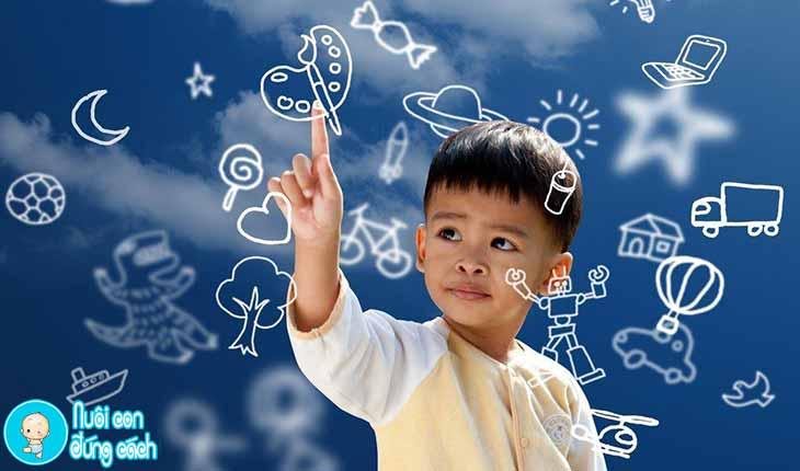 Tăng cường trí tưởng tượng cho trẻ