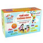 Bộ thẻ học thông minh cho bé 16 chủ đề - 416 thẻ Song ngữ Anh - Việt