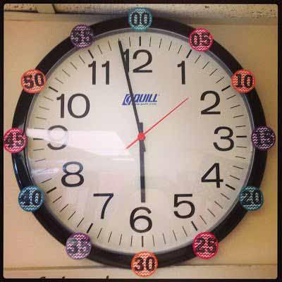 dạy trẻ tập đếm số phút