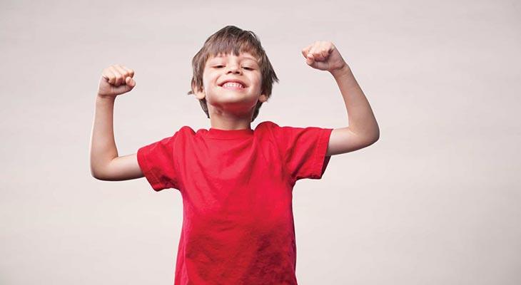 Giúp trẻ phát triển thể chất