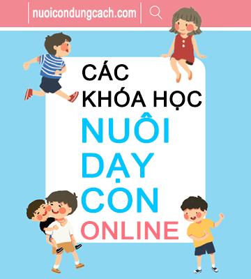 khóa học nuôi dạy con online