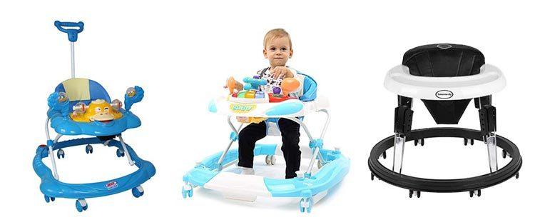 Đánh giá về xe tập đi cho bé. Nên mua xe tròn tập đi hay xe đẩy tập đi?